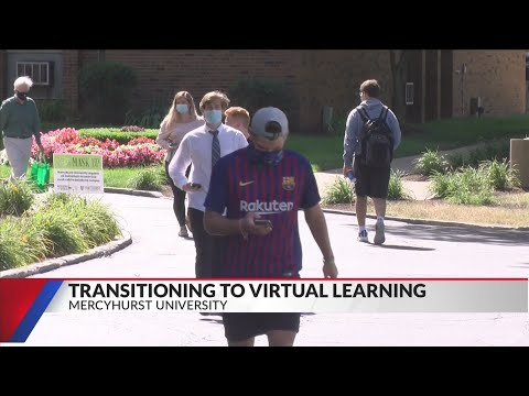 Students react to Mercyhurst University transitioning to remote classes