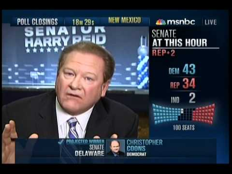 MSNBC 2010 Election Night Coverage Part 13