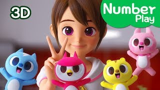 [Miniforce] Let's number play | Number Play | Baby Miniforce play with Suzy | Miniforce Number Play
