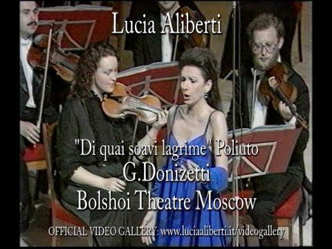 "Lucia Aliberti - ""Di quai soavi lagrime"" Poliuto G.Donizetti Bolshoi Theater Moscow"