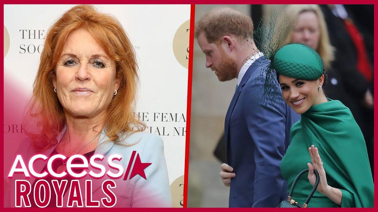 Sarah Ferguson Breaks Silence On Meghan Markle & Prince Harry
