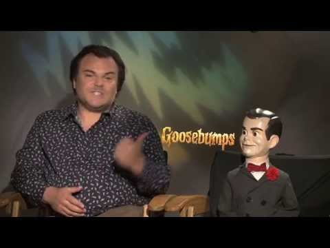 GOOSEBUMPS Interview: Jack Black and Slappy The Dummy