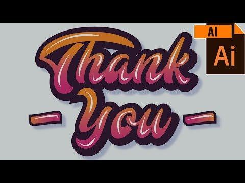 Professional Typography Design Illustration - Graphic Design Bangla Tutorial - UY Lab thumbnail
