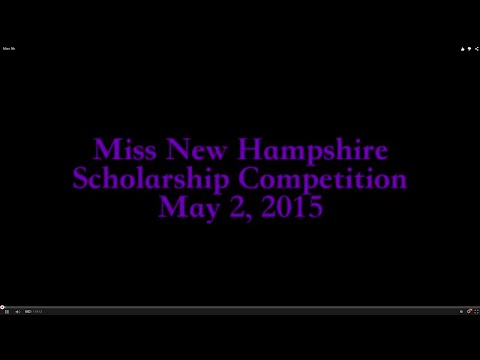 Highlights from the Miss New Hampshire Scholarship Competition 2015