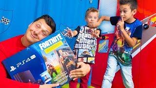 ПЕРЕВОСПИТАЛИ Артура и Давида Не БУДЕТ Больше Fortnite и PlayStation 4 Pro