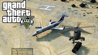 GTA 5 Online Mission: Landing Strip - The Owl and the Pig