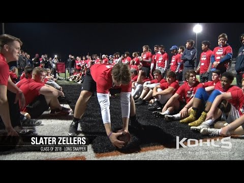 Slater Zellers | #1 Ranked Long Snapper in America | Class of 2018