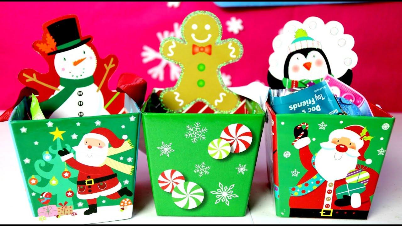 3 cajitas sorpresa de navidad gigerbread man snow man y - Sorpresas para navidad ...