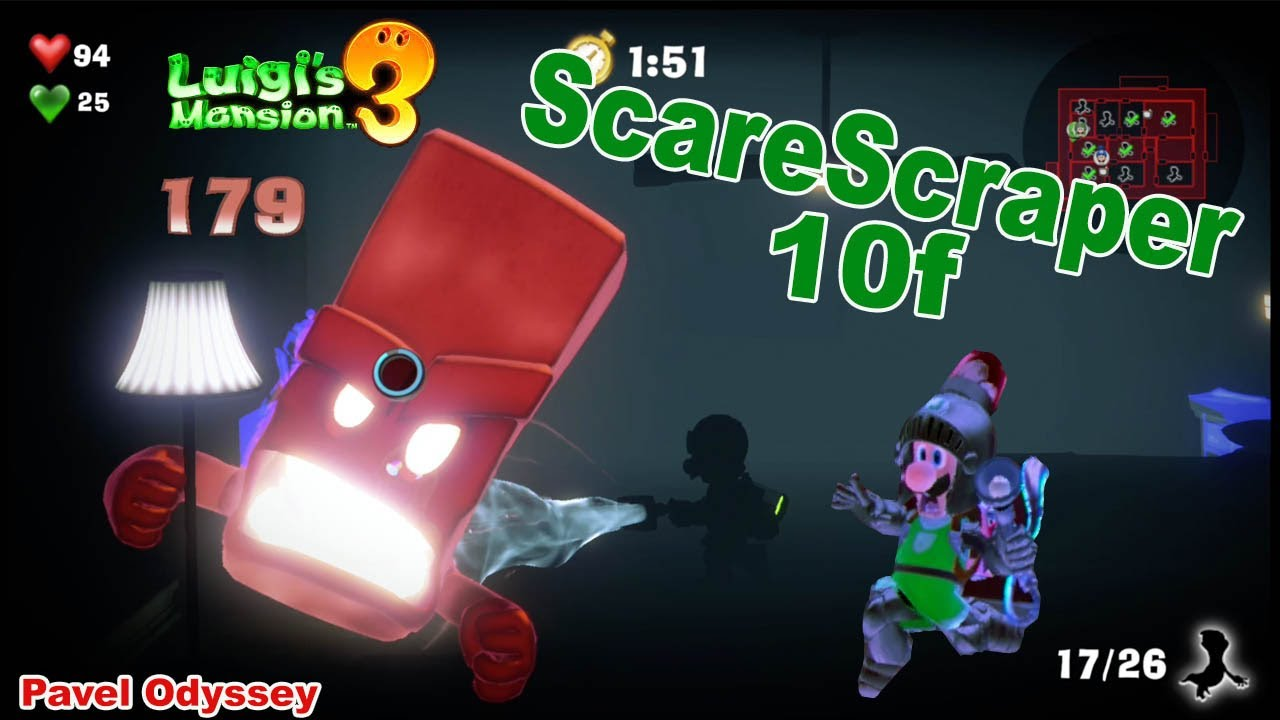 Scarescraper Full Version Luigi Mansion Dlc