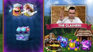 Happy NEW Year - Chest Opening - Clash Royale