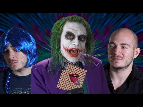 LSD and Ket With THE JOKER!? | 'What NOT to do!'