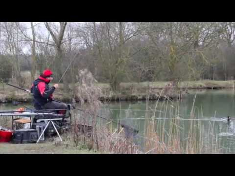 Steve Ringer In Action At Wassell Grove Fishery