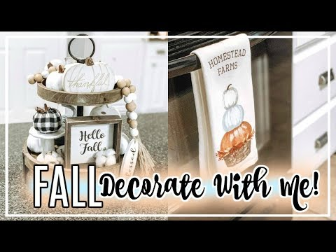 NEW! FALL DECORATE WITH ME 2019 | FALL DECOR 2019 | THE WELDERS WIFE
