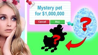 You Wont Believe What MYSTERY Pet I Got In Adopt Me! (Roblox)