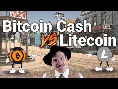 The Crypto Corral - Round 8: Bitcoin Cash VS Litecoin