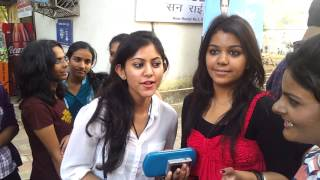 Mood indigo 2012 - Interview with girls for 'First Simple Plan live concert in india' - IIT Mumbai