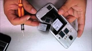 Abrir Samsung Galaxy S4 - Parte 1