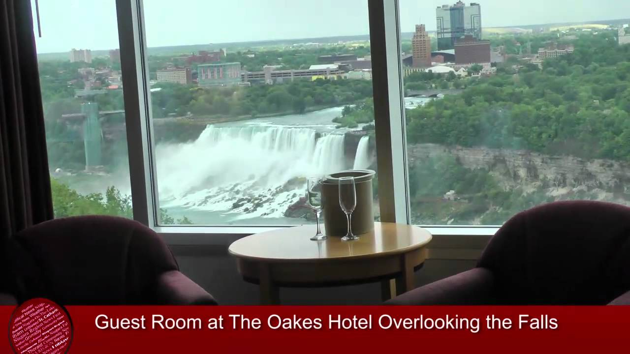 Niagara Falls Hotels >> The Oakes Hotel Overlooking the Falls - YouTube