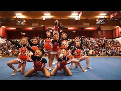 Gladstone Youth Cheer Tualatin Last Chance Cheer Competition