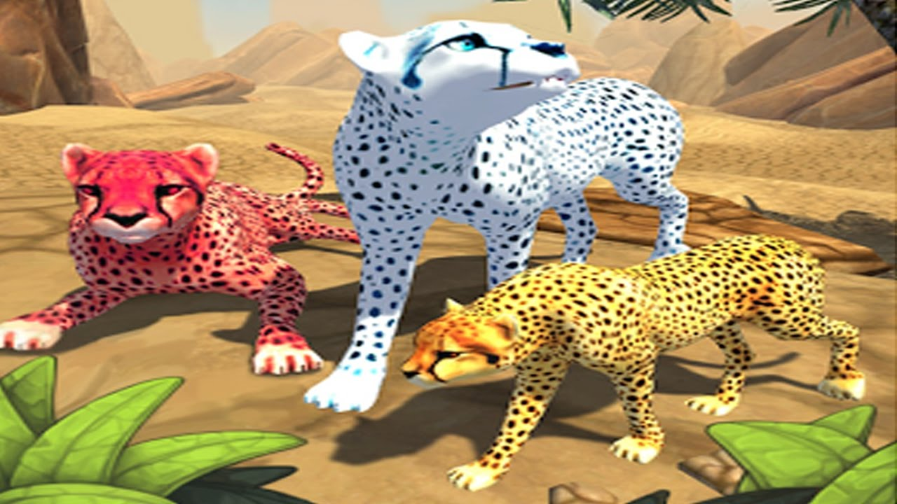 Cheetah family sim 3d android gameplay hd 4 youtube for Simulatore 3d