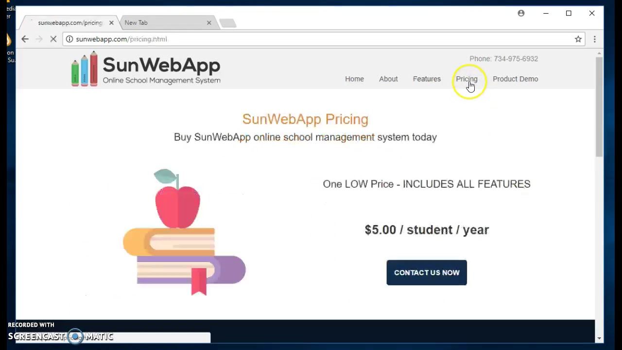 Sunday/ Weekend School Management System - www SunWebApp com