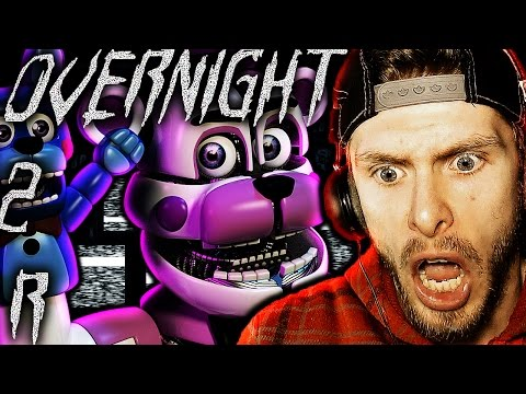 Overnight 2: Reboot Night 3 Demo Gameplay END! | FUNTIME FREDDY? - FNAF Free Roam Horror Game