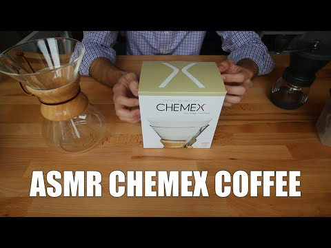 ASMR | Chemex Coffee Brewing Sounds & Whispering