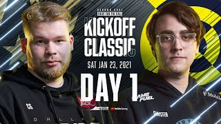 Call Of Duty League 2021 Season | Kickoff Classic | Day 1
