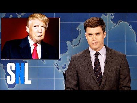 Weekend Update on Donald Trump's Syria Missile Strike - SNL