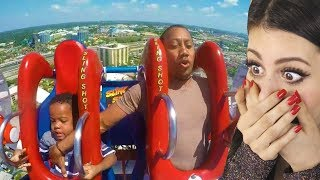 Download Dad tries to save son on roller coaster then this happens... Mp3 and Videos