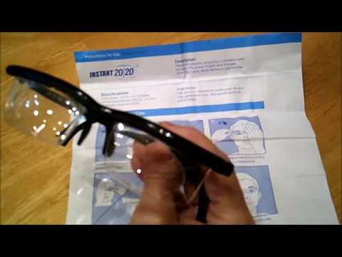 427e7a969f Instant 20 20 Vision Glasses - Adjustable Focus Lenses - Dial Vision Glasses