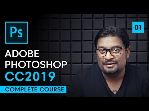 Adobe Photoshop CC 2019 Tutorials | Episode 1