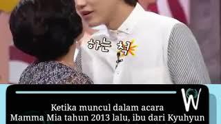 Download Video Wow fakta!!!!! Kyuhyun punya kebiasaan mencium bibir ibunya😱 MP3 3GP MP4