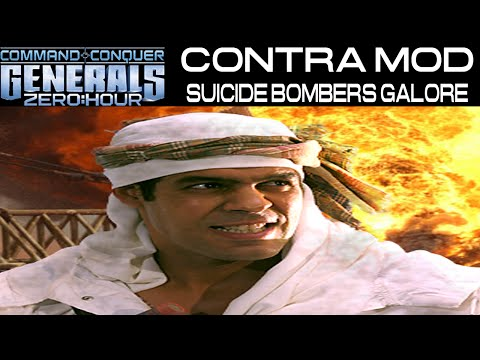 Contra Mod - Suicide Bombers Galore - GLA Demolition General