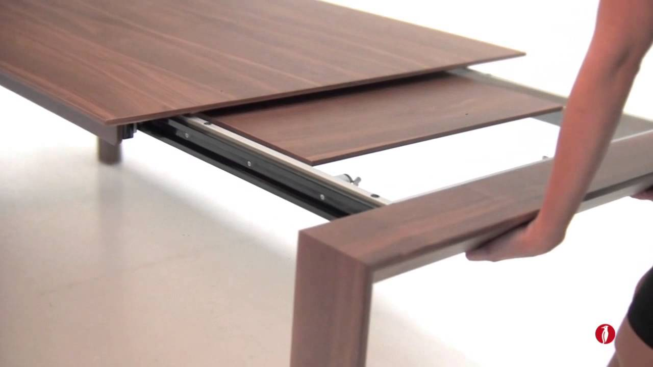 Calligaris Omnia Wood Extendable Table by NEO Interiors  : maxresdefault from www.youtube.com size 1280 x 720 jpeg 38kB