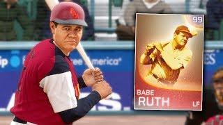 I FINALLY GOT 99 IMMORTAL BABE RUTH! MLB The Show 18 | Battle Royale