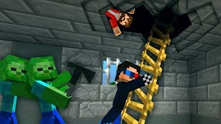 ☢️План побега! День 7. Зомби апокалипсис в майнкрафт! - (Minecraft - Сериал)