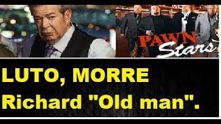 LUTO , RICHARD 'THE OLD MAN' HARRISON, do reality show 'TRATO FEITO', MORRE aos