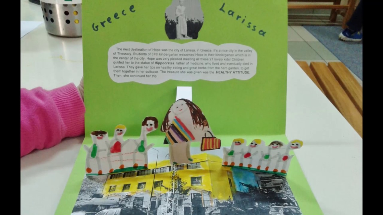 37th Kindergarten Of Larissa Pop Up Book