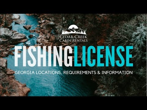 Georgia Fishing License Information