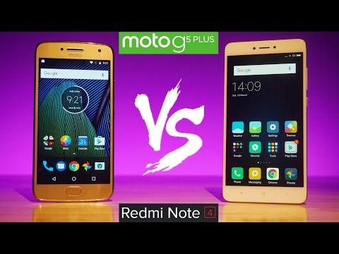 Moto G5 Plus vs Xiaomi Redmi Note 4 - What