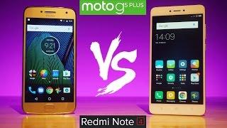 Moto G5 Plus vs Xiaomi Redmi Note 4 - What's better for YOU? Full Comparison!