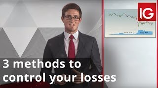 Where to place my stop? 3 methods to control your losses