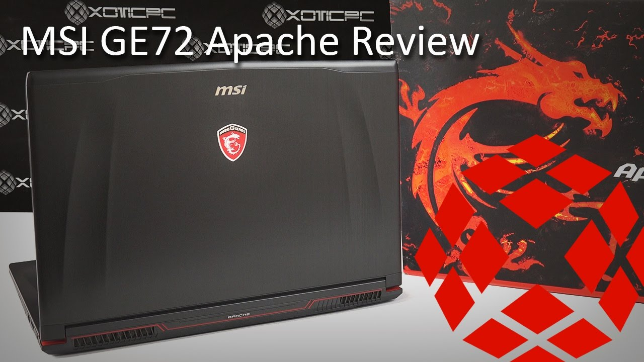 Msi Ge72 Apache I7 7700hq Gtx 1050 Review Youtube