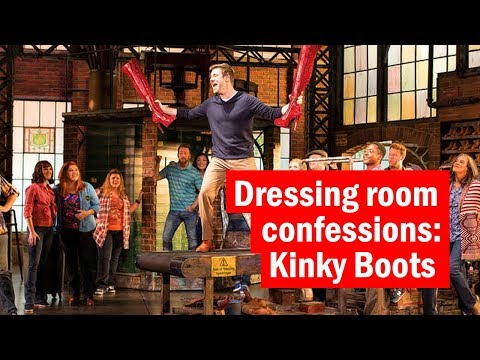 David Hunter at Kinky Boots | Dressing room confessions: