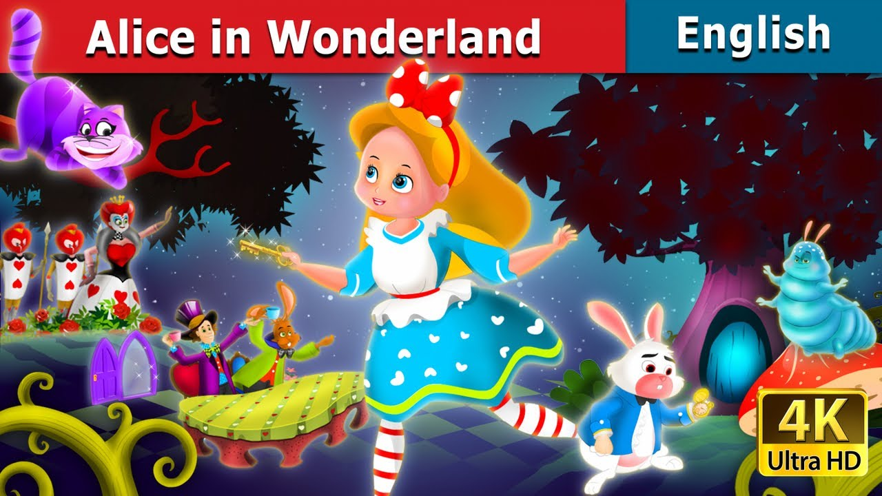 alice in wonderland in english story english fairy tales youtube. Black Bedroom Furniture Sets. Home Design Ideas
