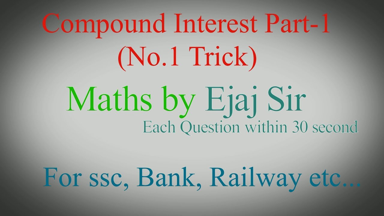 compounded interest Compound interest is the concept of earning interest on your investment, then earning interest on your investment plus the interest over time this results in the exponential growth of your money.