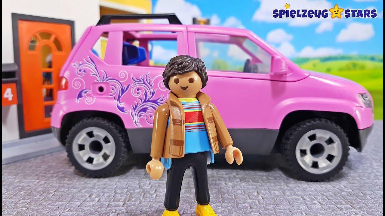 PLAYMOBIL® 9404 Familien-PKW mit Parkbucht Playmobil