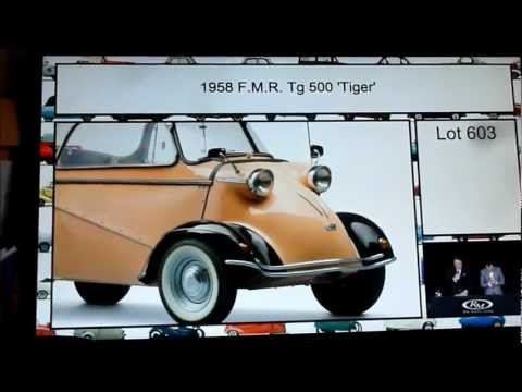 Messerschmitt Tiger sells for record $ 280k.