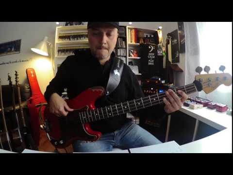 John Mayer - Assassin - Bass Cover - Pino Palladino Bassline (Tab Available)